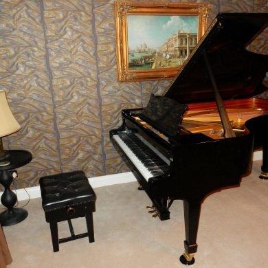Steinway Model B Grand Piano 1990