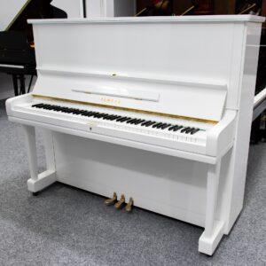 Yamaha U3E Polished White