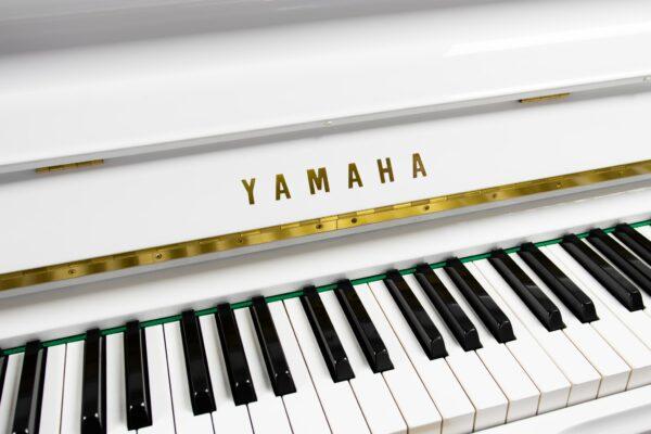 Yamaha U3E White Finish Keys