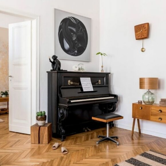 Where's the best place to put a piano?